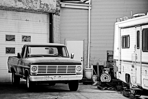 Garage Yard, by John Caruso Gear: Canon 5D Mark II, EF24-105mm f/4L IS USM Exposure: f/4 at 1/800. ISO 200, Natural Light